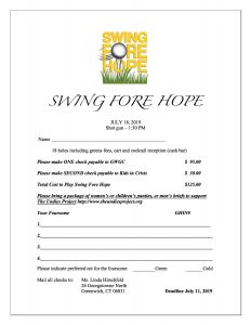7/18/19 Swing Fore Hope sign up form